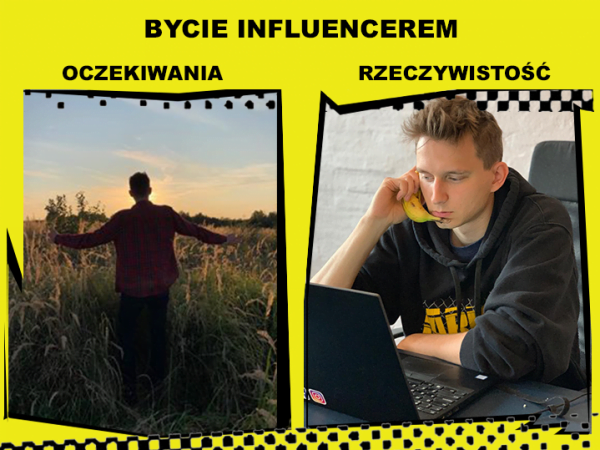 influencer marketing - bycie influencerem