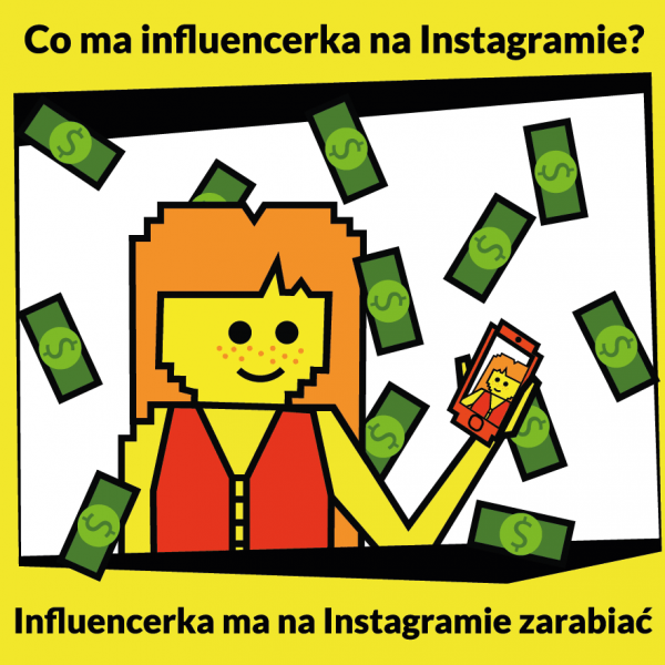 Influencer marketing - co ma influencerka na instagramie