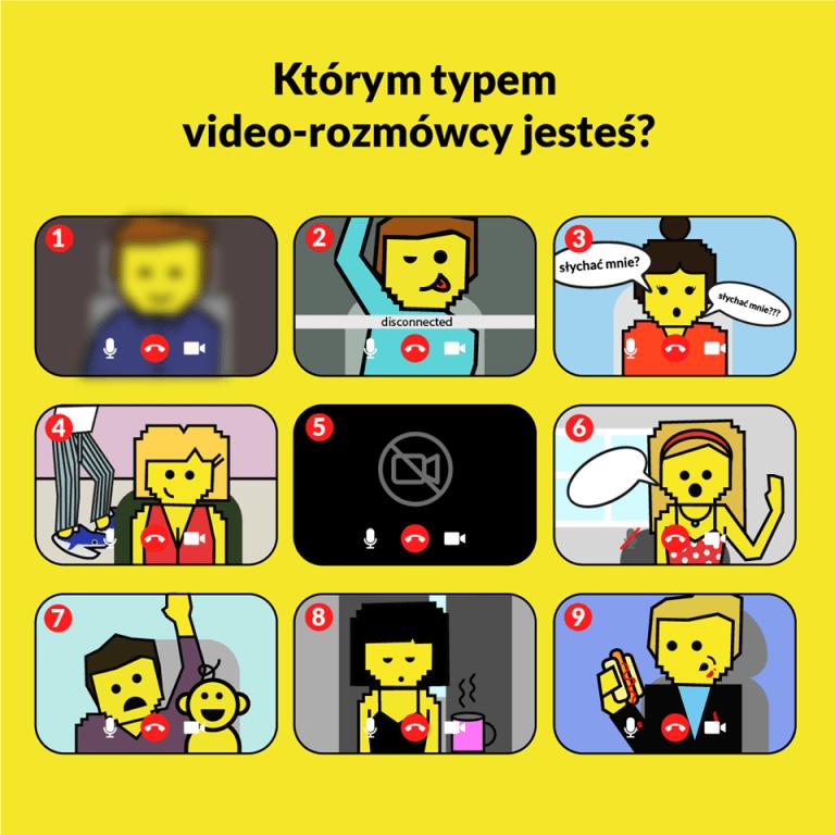 Którym typem video-rozmówcy jesteś?