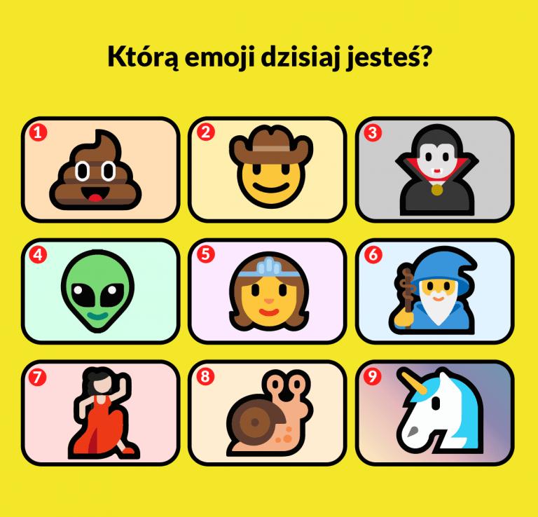 Którą emoji dzisiaj jesteś?